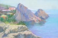 Simeis auf der Krim 40x65 cm, Öl, Leinwand - verkauft - Malerein Olga Liashenko