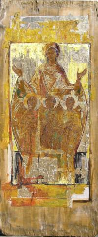 Sofia 180x90 cm, Öl, Leinwand, Holz - zu kaufen - Malerein Olga Liashenko