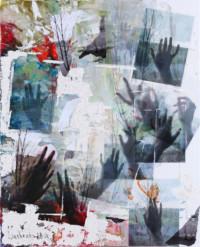 Melancholie - unendlich begreifen 120x90 cm, Druck hinter Acrylglas - zu kaufen - Malerein Olga Liashenko