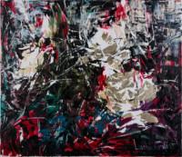Die weißen Rosen 60x70 cm, Öl, Vergoldung, Leinwand - zu kaufen - Malerein Olga Liashenko