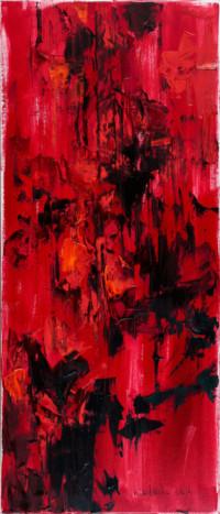 Die Mohne 70x30 cm, Öl, Leinwand - zu kaufen - Malerein Olga Liashenko