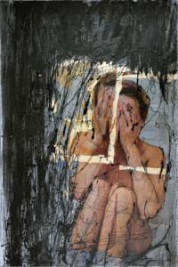 Ohne Titel 120x80 cm, Druck hinter Acrylglas - zu kaufen - Malerein Olga Liashenko
