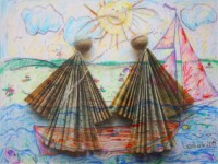 Wach auf! 90x120 cm, Mixed Media, Acrylglas - zu kaufen - Malerein Olga Liashenko