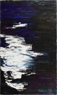 Im Fluss 90x150 cm, Öl, Leinwand - zu kaufen - Malerein Olga Liashenko