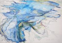 Main.Leben 90x130 cm, Öl, Graphitstift, Leinwand - verkauft - Malerein Olga Liashenko
