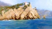 Auf der Krim 60х35 cm, Öl, Leinwand - verkauft - Malerein Olga Liashenko